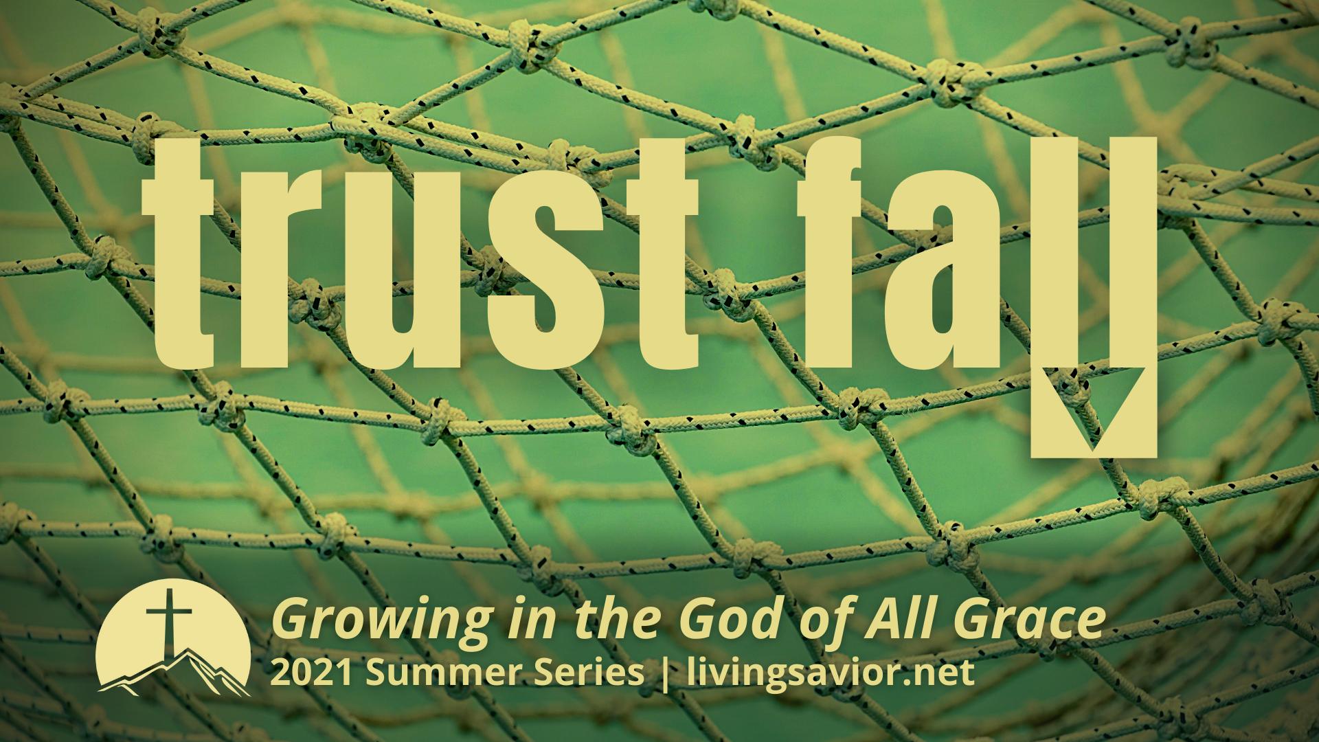 trust fall series logo